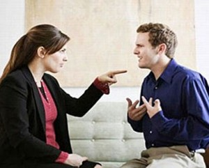 Discutir en pareja