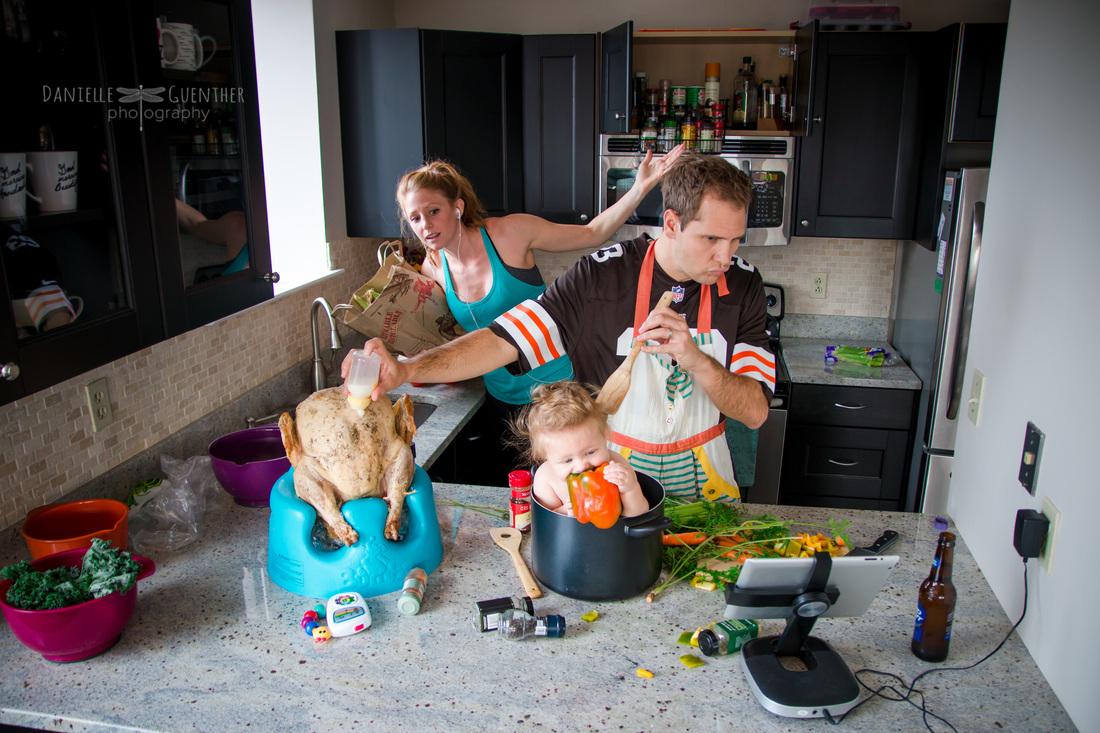 Tiempo de calidad - cocina